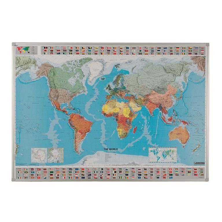Drywipe world map