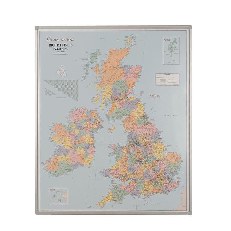 Drywipe UK county boundary map