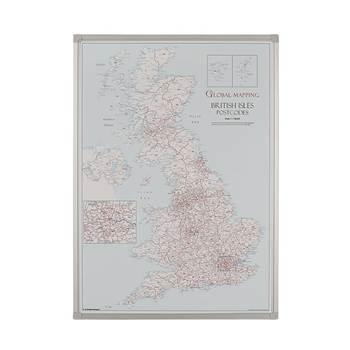 Drywipe UK postcode map