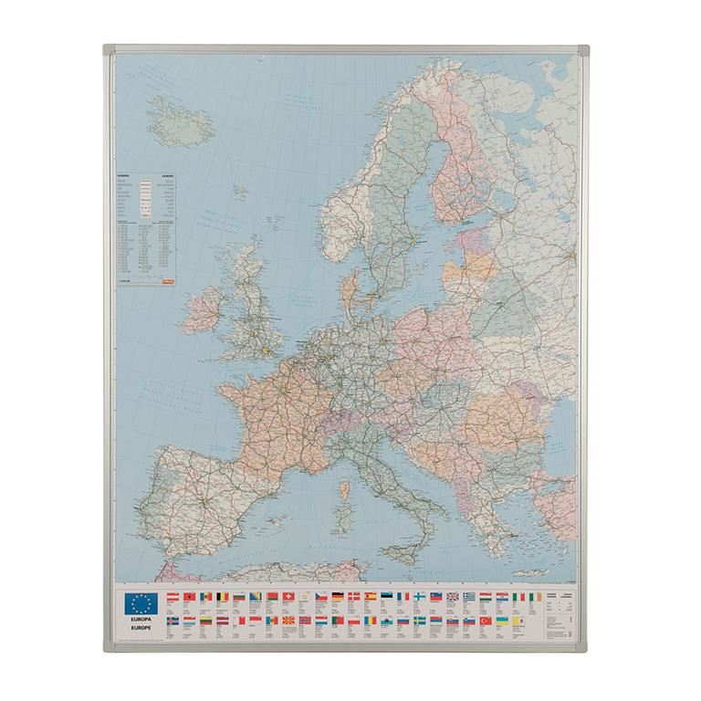 Drywipe European map