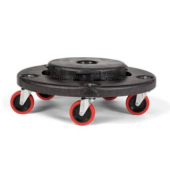 BRUTE® quiet roll round dolly