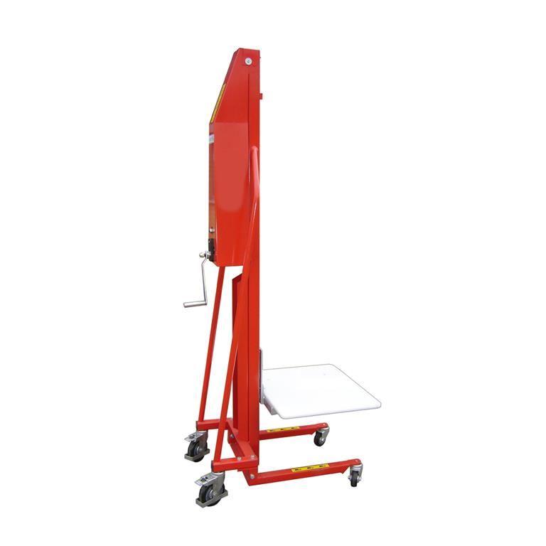 Manual winch lifter