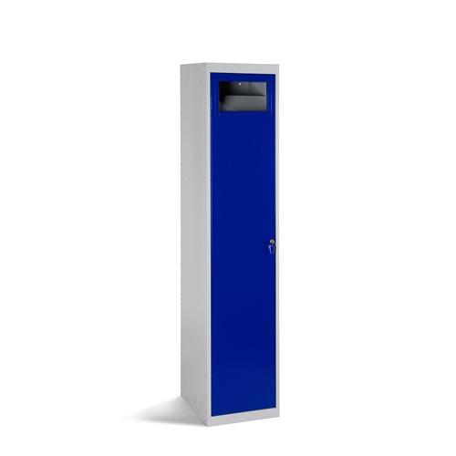 Garment disposal locker