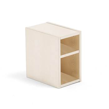 Modulus small shelf unit, birch