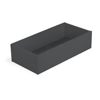 Modulus top storage tray, W 800 mm, black