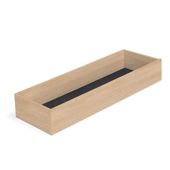 Modulus XL top storage tray, W 1200 mm, oak