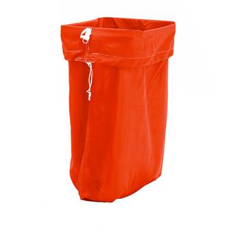 Laundry hamper, 1100x700 mm, red