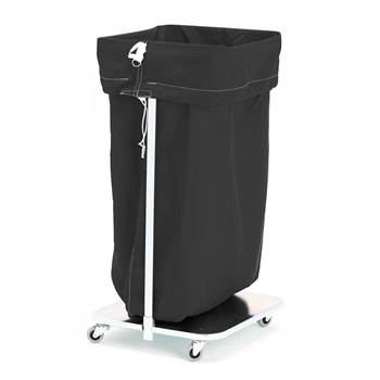 Laundry hamper, 1100x700 mm, black