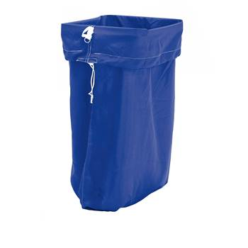 Laundry hamper, 1100x700 mm, dark blue