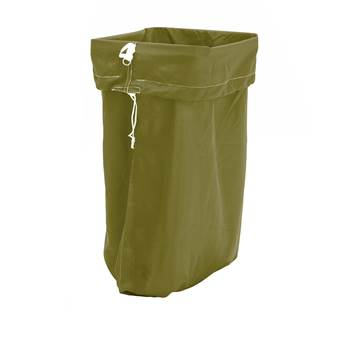 Laundry hamper, 1100x700 mm, dark green