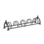 Cykelställ för 5 cyklar, svart