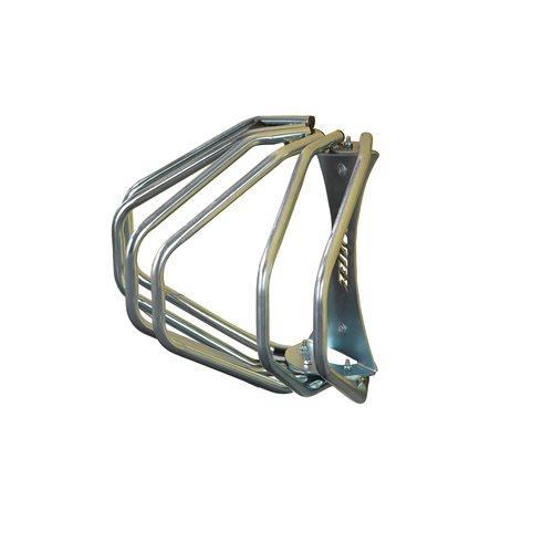 Cykelställ för 3 cyklar, väggmontering