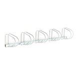 Cykelställ för 5 cyklar, väggmontering