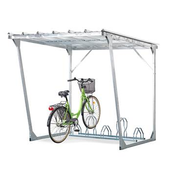 Bicycle shelter, 5 bicycles