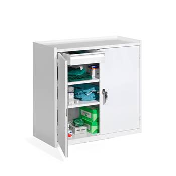Storage cabinet, 900x950x450 mm, white
