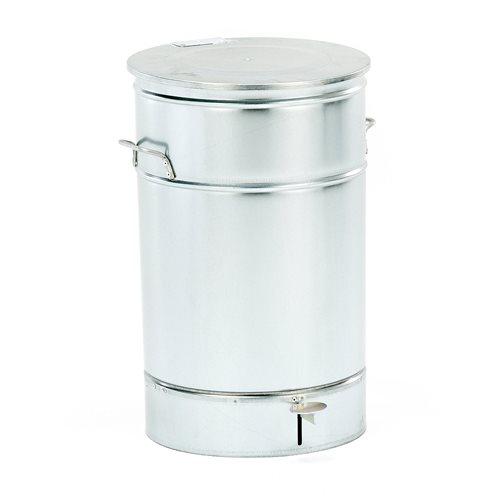 Roska-astia, 70 litraa, galvanoitu