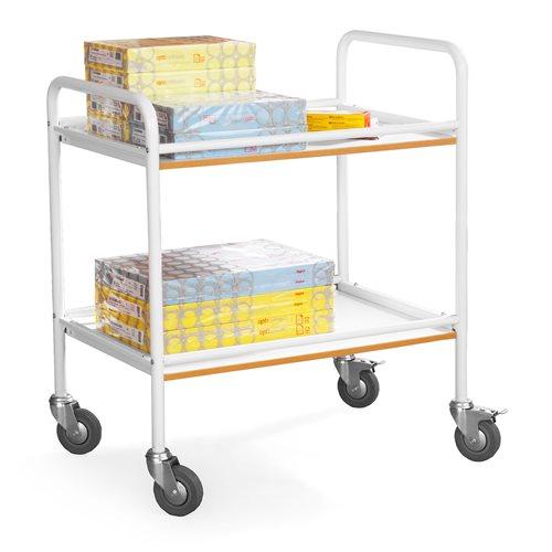 Shelf trolley: L750xW500xH910mm
