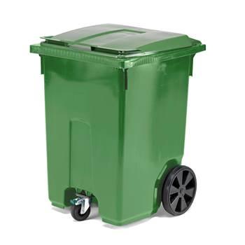 Avfallsbeholder med 3 Hjul