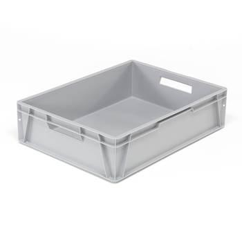 Plastback Euro, 80 liter, 800x600x200 mm, grå