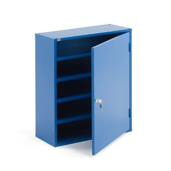 Section cabinet, no boxes, 800x660x275 mm, blue