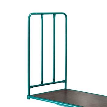 End frame for W670mm transport cart: H1000mm