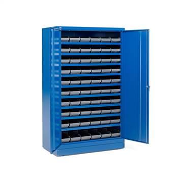 Zamykane szafki o zwiększonej głębokości  60 pojemników