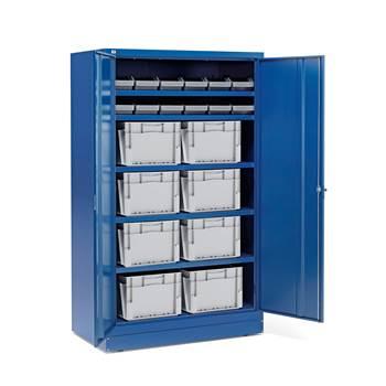 Zamykane szafki o zwiększonej głębokości  20 pojemników