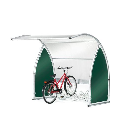 Bicycle shelter: basic unit
