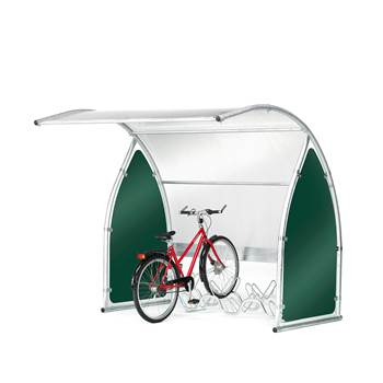 Bicycle shelter, basic unit, 2100x2200x2200 mm