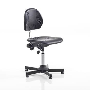 Superior factory chair, H 460-580 mm