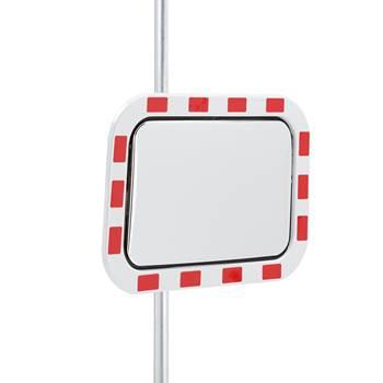 Industrispeil, trafikkspeil, 600x400 mm, akryl