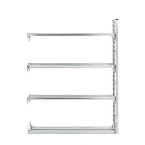 #en Tyre rack, 4  levels, add-on unit, 2500x2100x400 mm