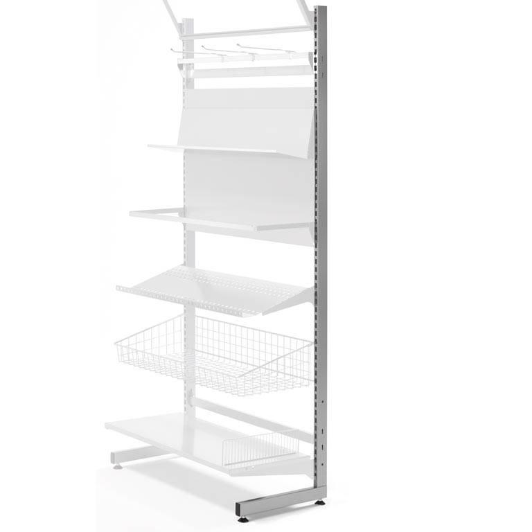 Retail display: L upright