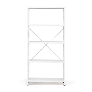 #en Light shelving, basic unit, 1970x1010x400 mm, white