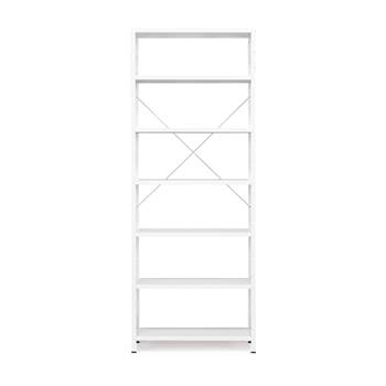 #en Light shelving, basic unit, 2500x1010x400 mm, white