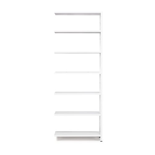 #en Light shelving, add-on unit, 2500x1005x300 mm, white