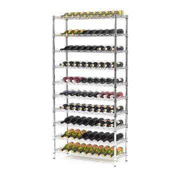 Wine rack, 10 shelves, 1825x900x355 mm