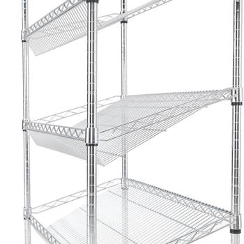 "Extra shelves for ""Slanted chromed wire shelving"""
