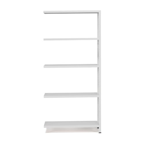 #en Light shelving, add-on unit, 1970x1005x400 mm, grey