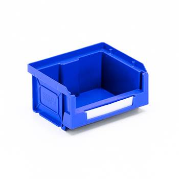 Budget stores bin, 90x105x55 mm, 0.5 L, blue