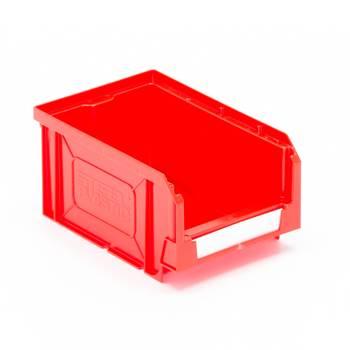 Oppbevaringsboks, 165x105x80 mm, rød