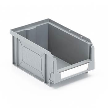 Förrådsback, 165x105x80 mm, grå