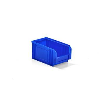 Niebieskie pojemniki magazynowe 4,2 l - 145x125x235mm - 38szt w opakowaniu
