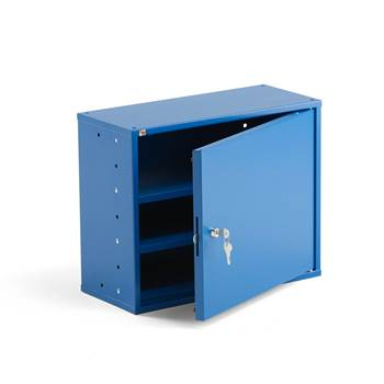 Small office cupboard, 380x470x205 mm, blue