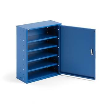 Niebieska szafka warsztatowa bez pojemników