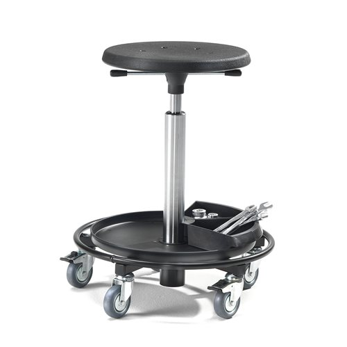 Wheel-stool: H800mm