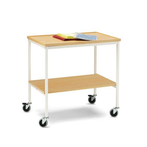 Shelf Trolley 7001, raised edge