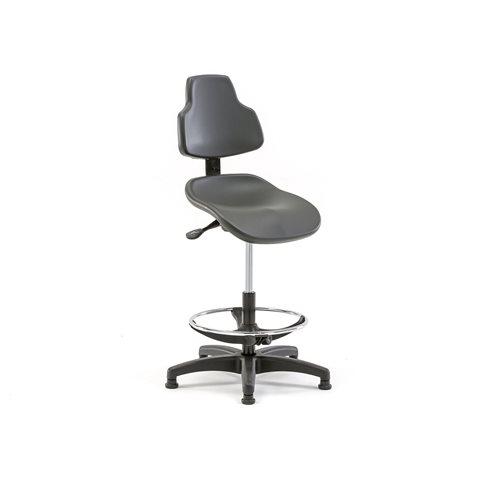 Krzesło robocze warsztatowe
