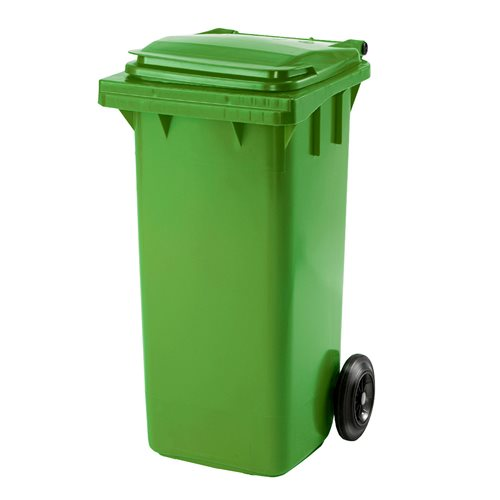 Roska-astia, 120 litraa, vihreä