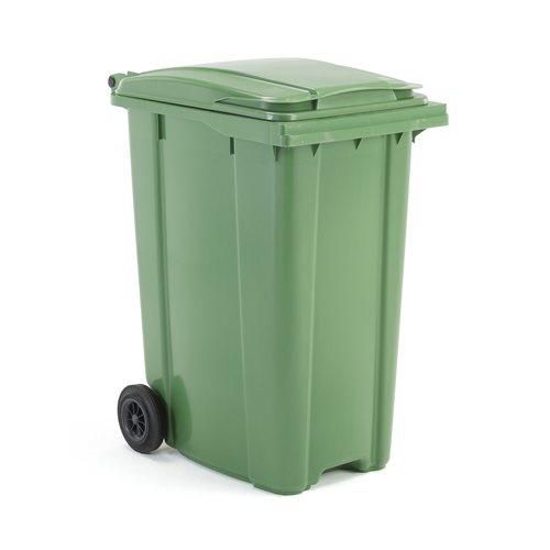 Pojemnik na śmieci poj. 340 l zielony